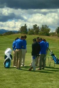 Valley Christian Golf prayer