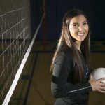 Courtney Dyer '18 a finalist for Volleyball Athlete of the Year