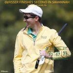 Gavin deFisser '15 earns CAA Golfer of the Week