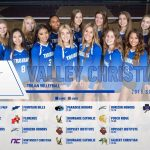 VCHS Volleyball SWEEPS Yuma Catholic