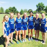 Valley Christian Girls XC team models commitment and character!