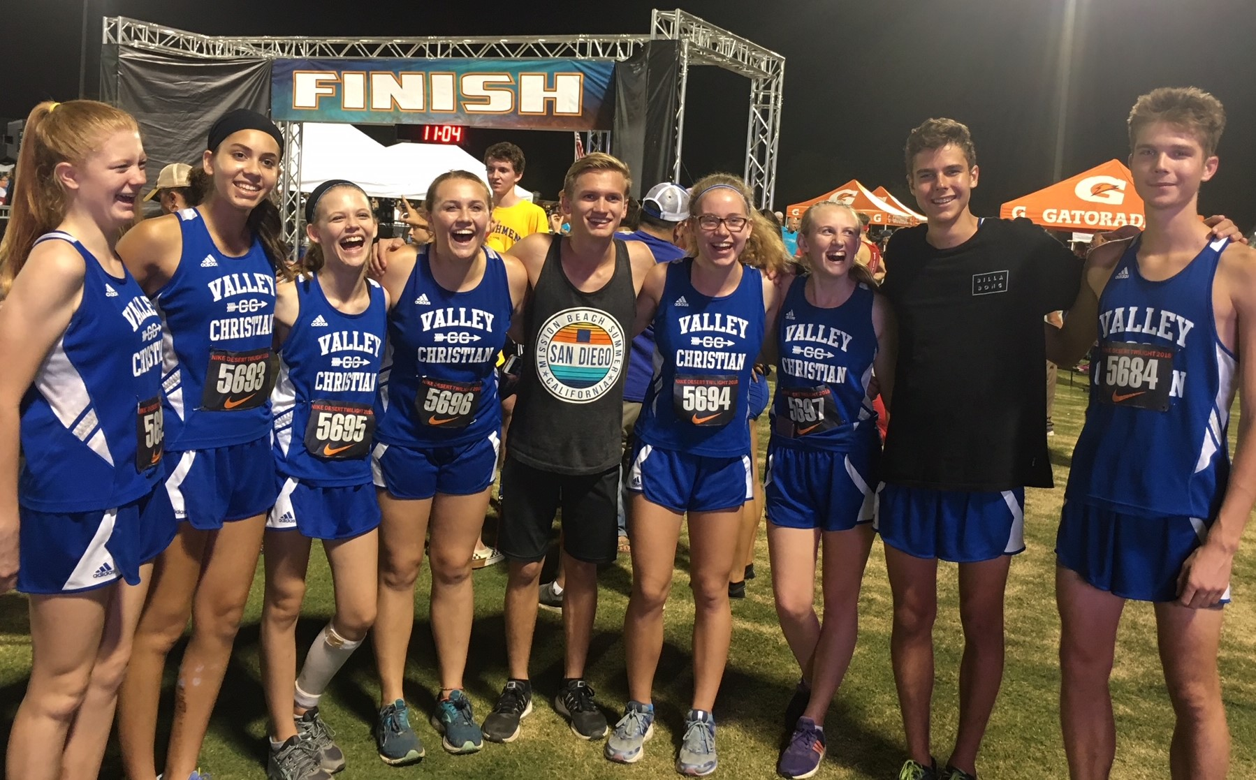 10 Trojan runners set personal records at Desert Twilight