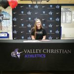 Audrey Brown ('18) Signs with Westmont College