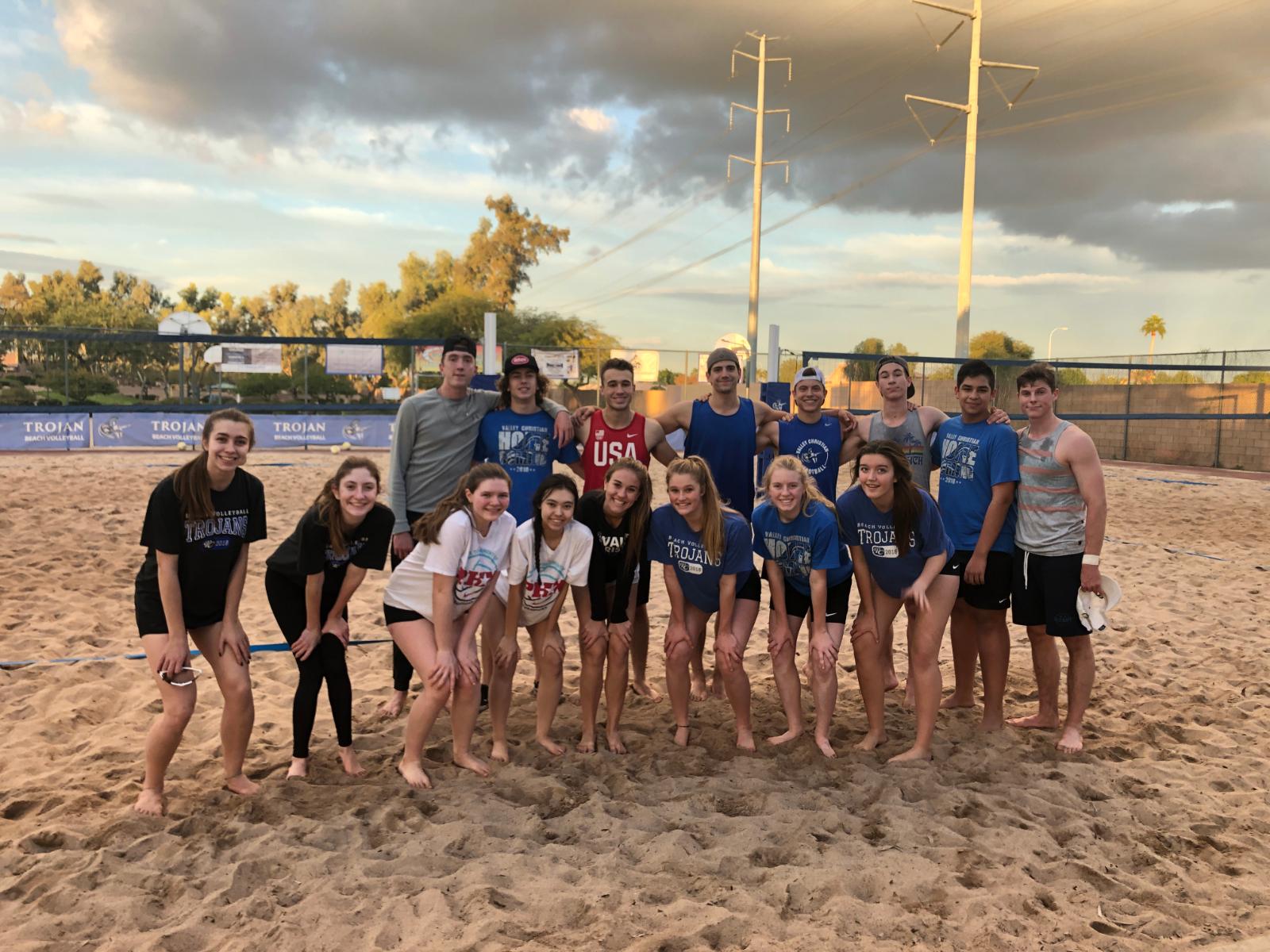 Beach VB Hosts Third Coed Tournament