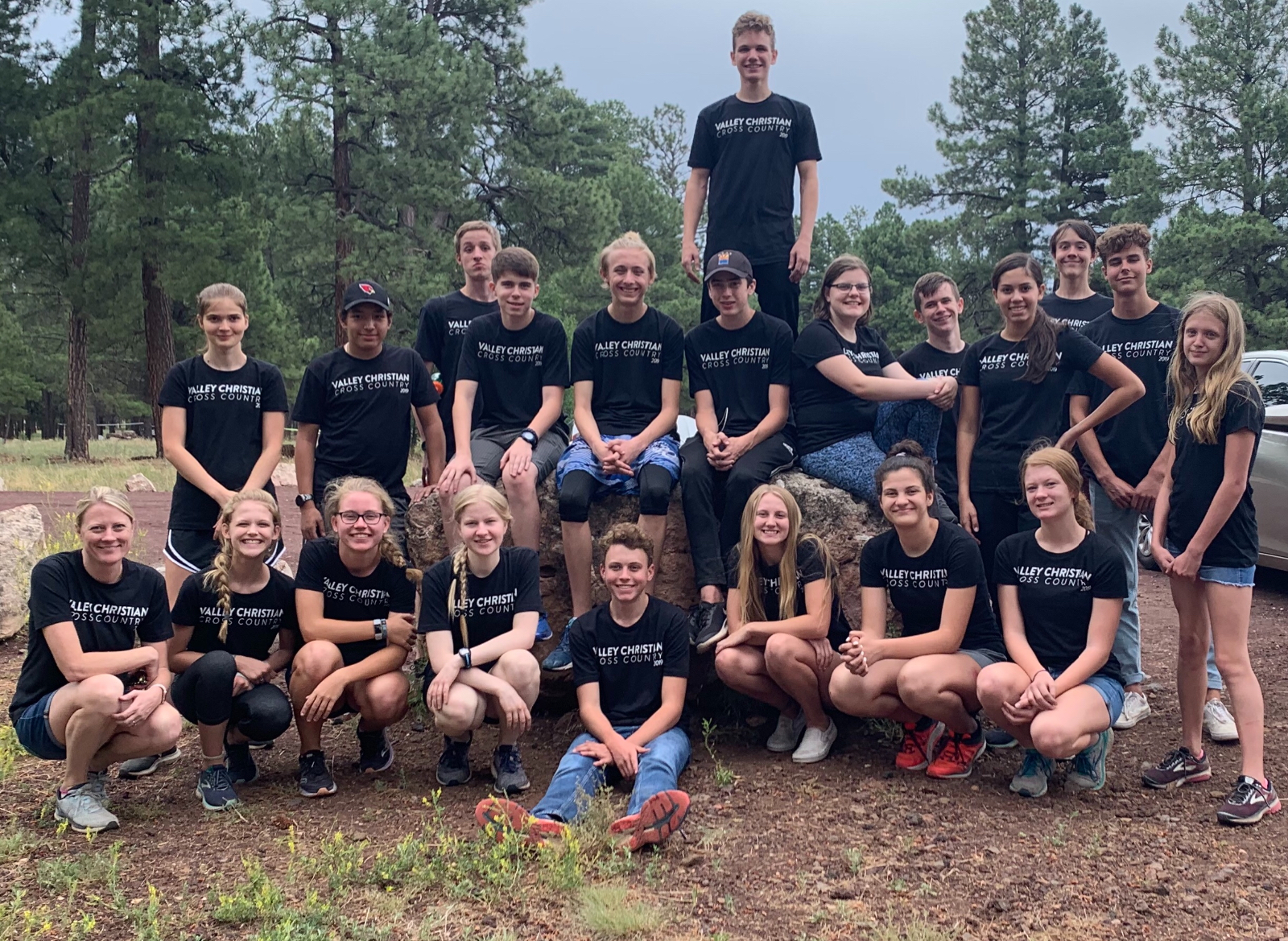 Cross Country Flagstaff Training Camp 2019