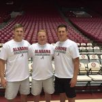 Two former Falcons make University of Alabama Co-ed Cheer squad