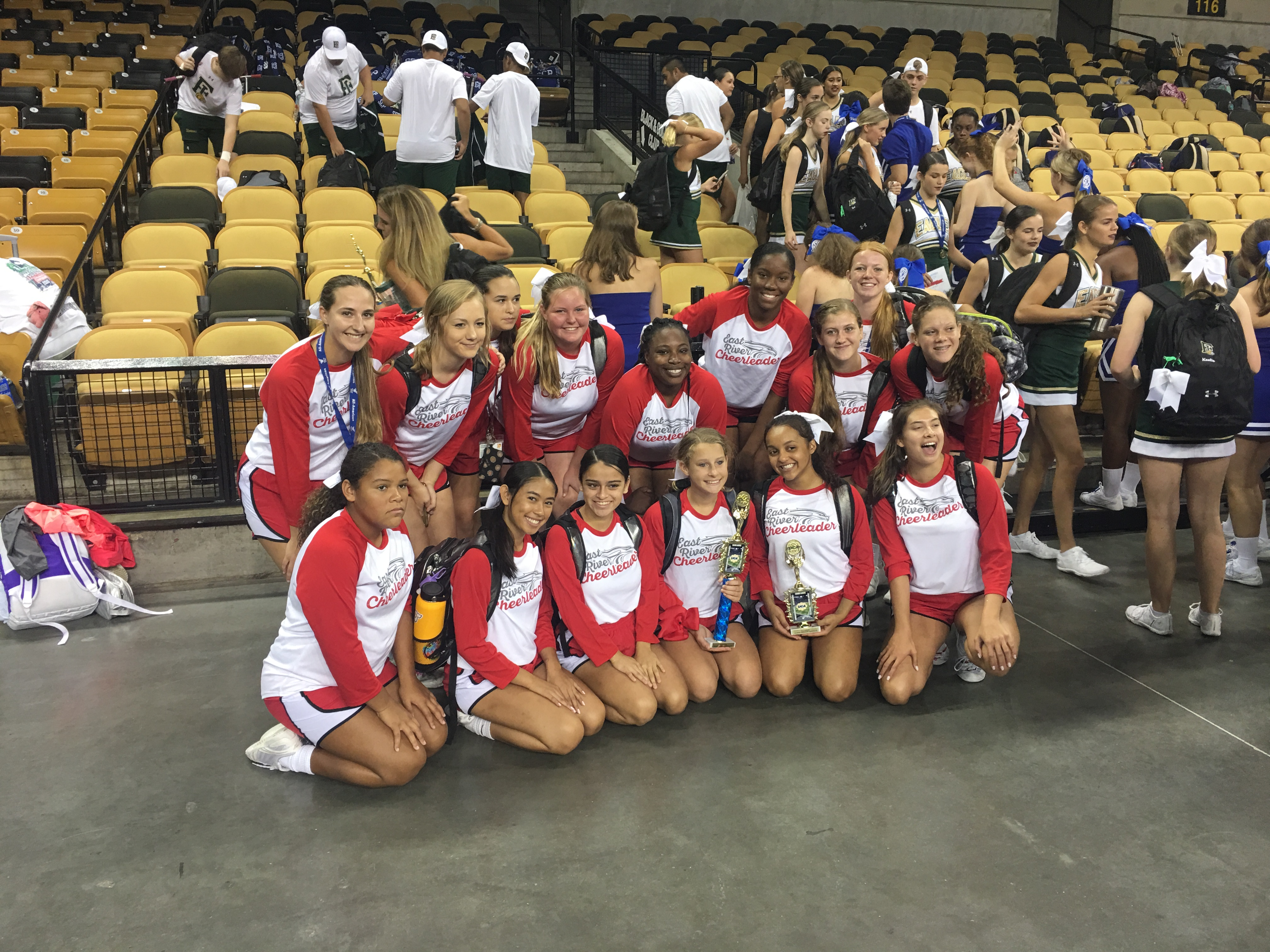 ERHS Cheer excels at camp