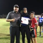 Colonial High School Girls Varsity Flag Football beat West Orange High School 31-12