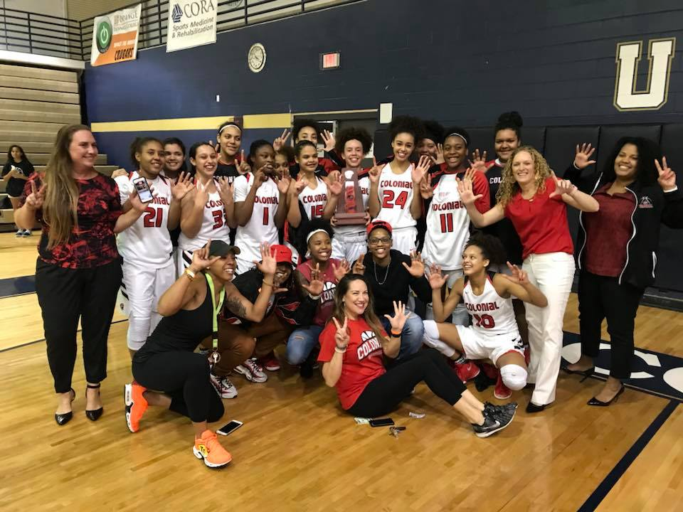 Girls Basketball Captures 7th Straight District Title