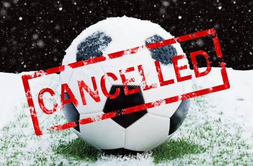 Girls Soccer Game Cancelled