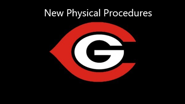 New Physical Procedures for 2020-2021