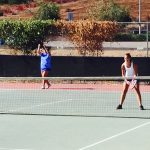 West Hills High School Girls Varsity Tennis beat Granite Hills High School 16-2