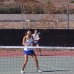 West Hills High School Girls Varsity Tennis falls to Helix High School 12-6