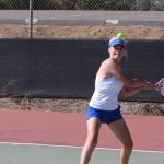 West Hills High School Girls Junior Varsity Tennis beat Helix High School 18-0