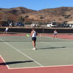 West Hills High School Girls Varsity Tennis falls to Steele Canyon High School 11-7