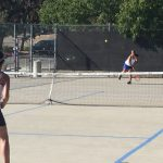 West Hills High School Girls Junior Varsity Tennis falls to Steele Canyon High School 11-7