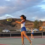 West Hills High School Girls Varsity Tennis ties Helix High School 9-9