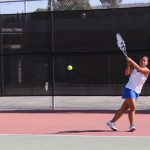 West Hills High School Girls Varsity Tennis falls to Valhalla High School 85-74