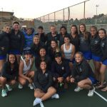 West Hills High School Girls Junior Varsity Tennis beat Monte Vista High School 15-3