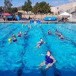 West Hills High School Girls Varsity Water Polo beat San Ysidro High School 17-2