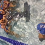 West Hills High School Girls Junior Varsity Water Polo beat OLP 9-1