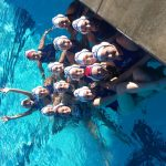 West Hills High School Girls Junior Varsity Water Polo beat Monte Vista/Spring Valley High School 11-4