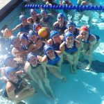 West Hills High School Girls Junior Varsity Water Polo beat Santa Fe Christian 6-4
