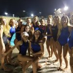 West Hills High School Girls Varsity Water Polo beat Helix High School 13-12