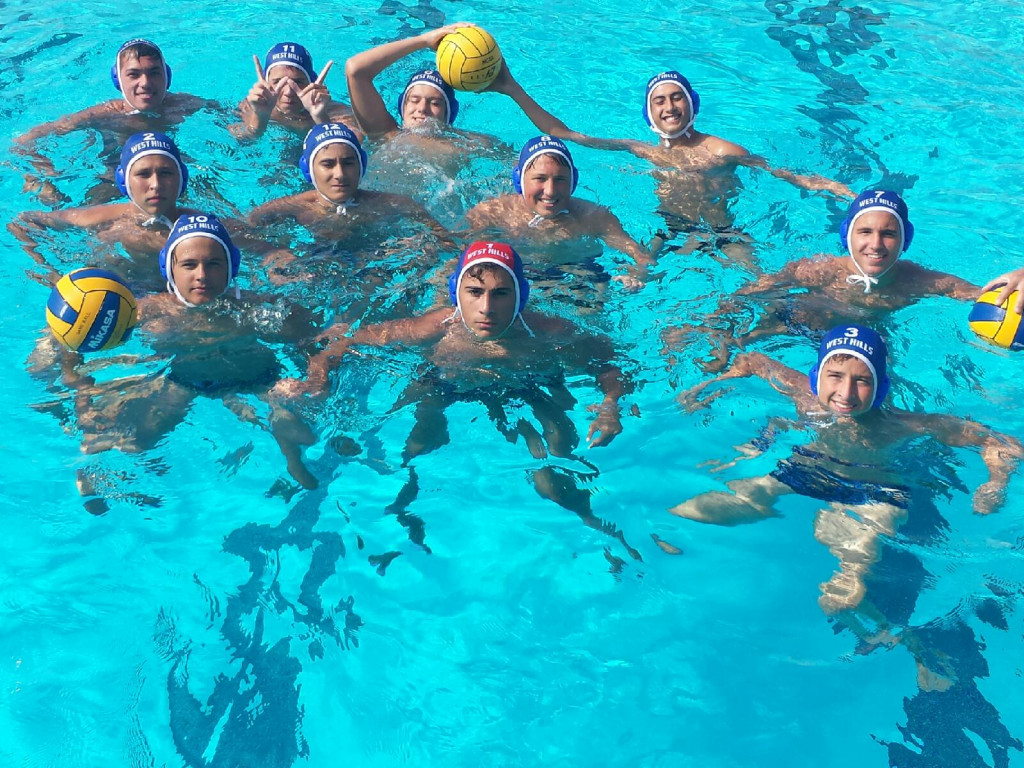 West Hills High School Boys Junior Varsity Water Polo falls to Helix High School 9-8