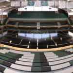Aurora Central's new gym floor