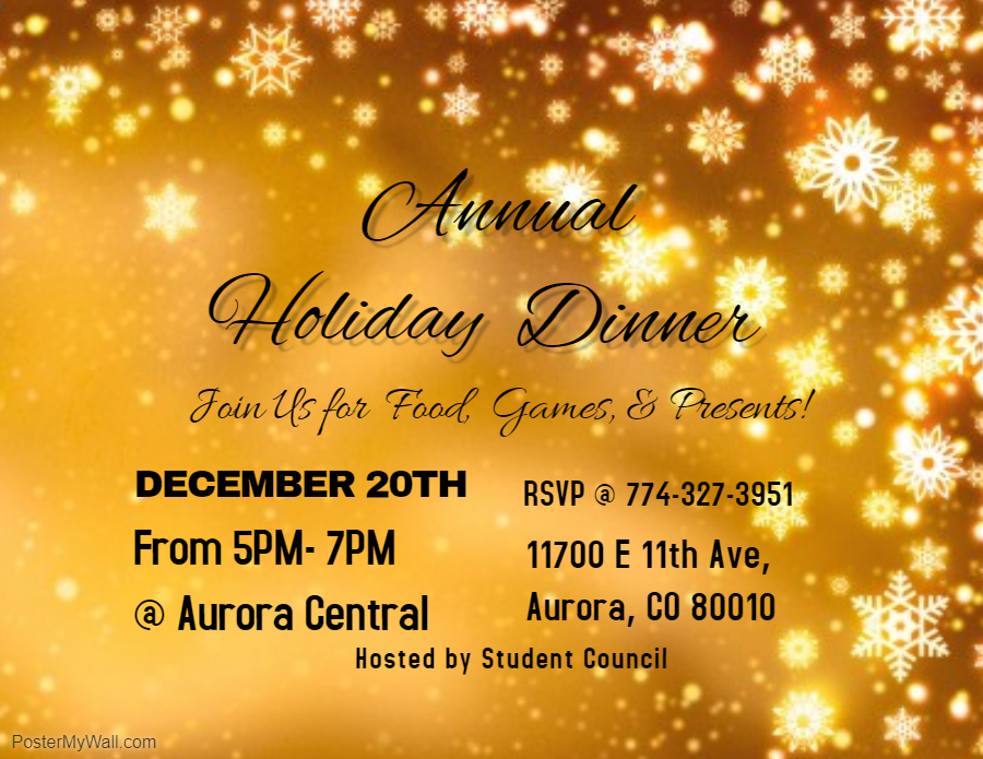 2018 Annual Holiday Dinner