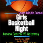 South Middle School Basketball Night: Trojans of tomorrow!
