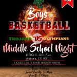 North Middle School Basketball Night: Trojans of tomorrow!