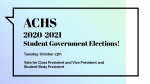 2020-2021 Student Government Elections