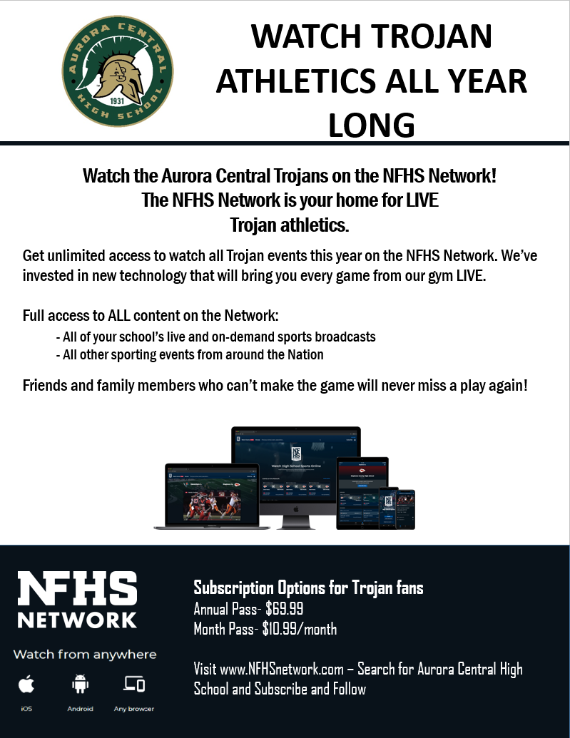 The NFHS Network is your home for LIVE Trojan athletics!