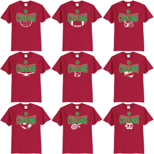 LP Booster Fall 2019 Fan Gear shirts