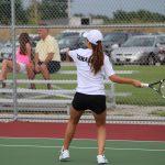 LaSalle-Peru High School Girls Varsity Tennis beat Mendota Township High School 4-1