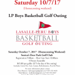 LPHS Boys Basketball Golf Outing