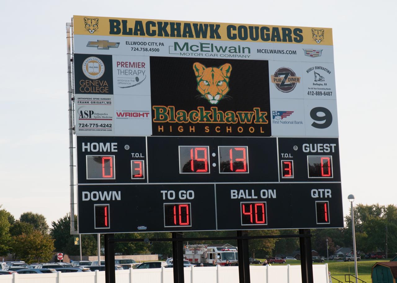 Blackhawk Cougars Football Media Release – Week 7 vs Indiana