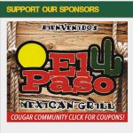 New Cougar Athletics Sponsor – El Paso Restaurant!