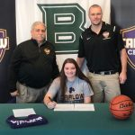 Taylor Lambright Signs with Carlow University!
