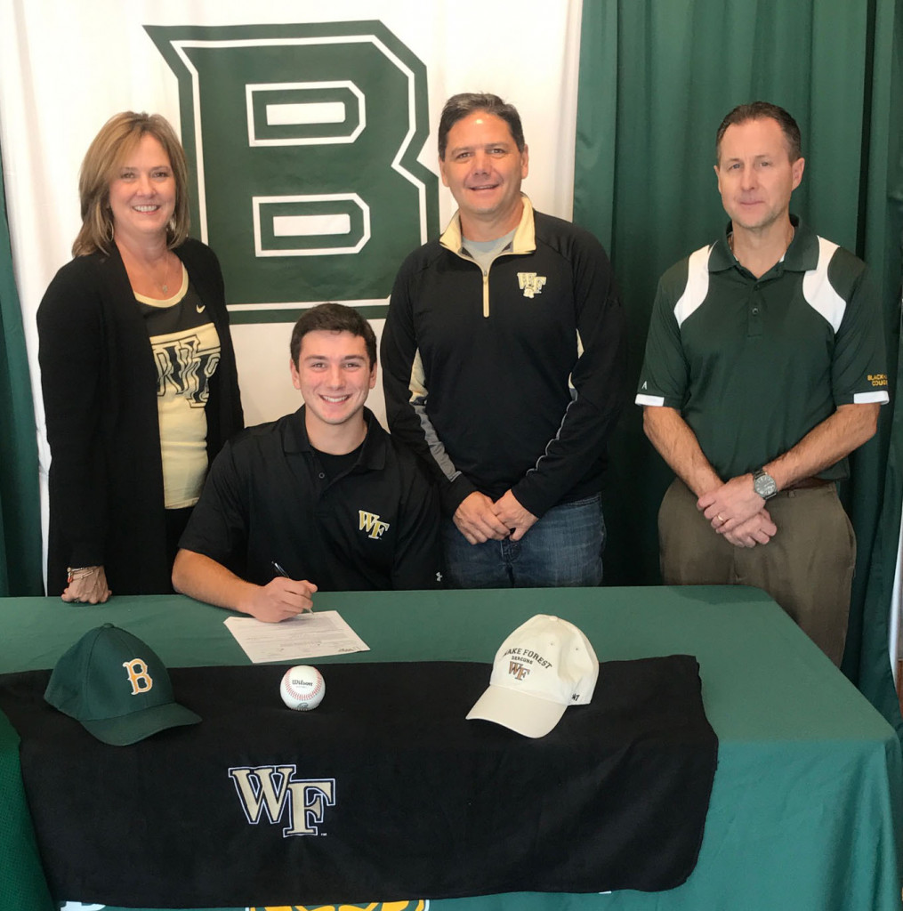 Mike Turconi signs with Wake Forest University
