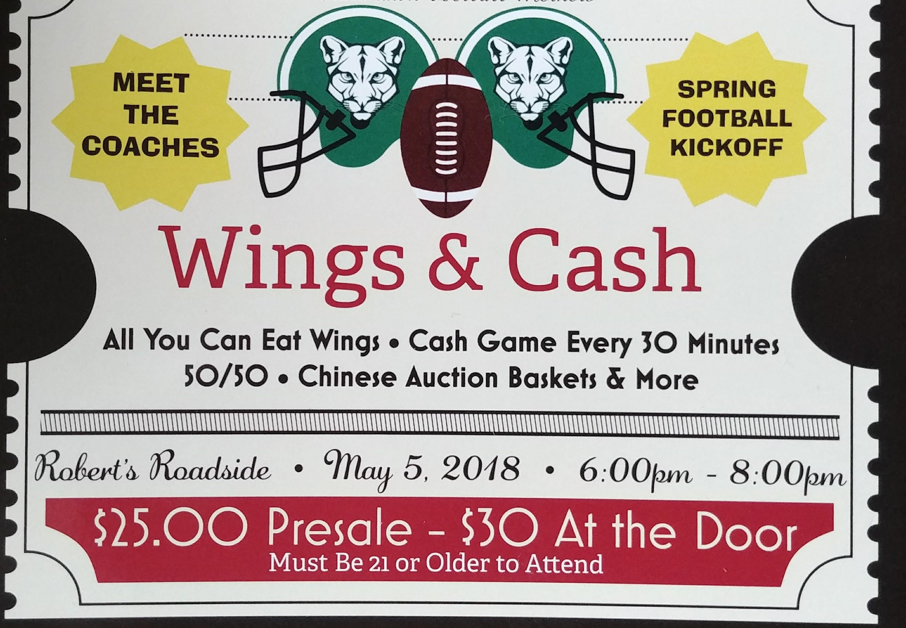 Blackhawk Cougar Football Fundraiser