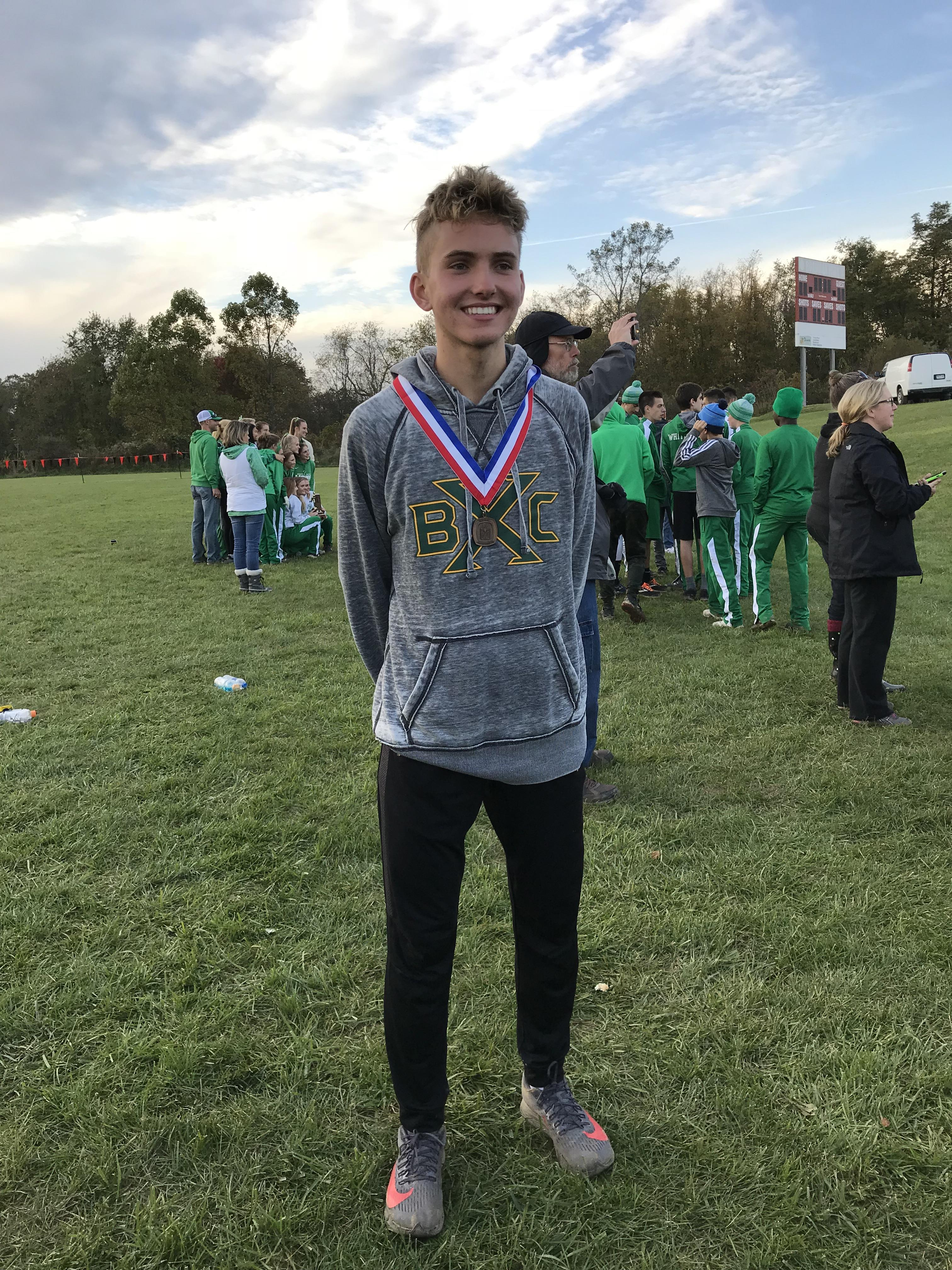 Aulbach finishes 5th at WPIAL Championships