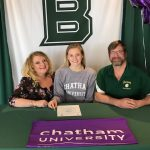 Kayli Newman signs with Chatham University