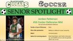 Blackhawk Soccer Senior Spotlight – Jordan Patterson