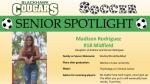 Blackhawk Soccer Senior Spotlight – Madison Rodriguez