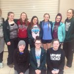 Greenville Senior High School Girls Varsity Swimming & Diving finishes 19th place