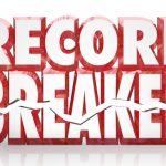WOOD BREAKS RECORD