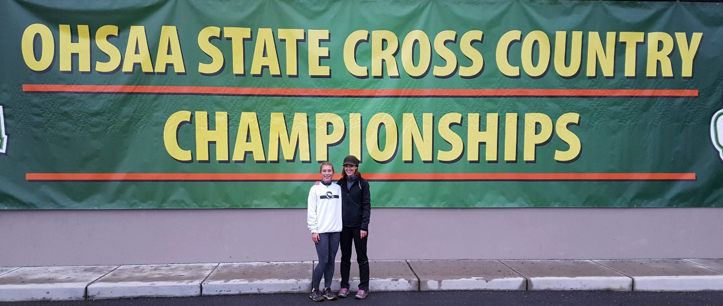 Isabelle Rammel Runs at OHSAA State Cross Country Championships